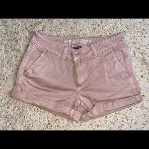 American Eagle Midi Shorts size 8 (pale pink)